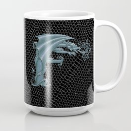 Dragon Letter F, from Dracoserific, a font full of Dragons. Coffee Mug