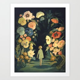 The Night Garden Art Print