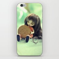cookie monster iPhone & iPod Skins featuring Cookie Monster  by Aleksandra Piątkowska