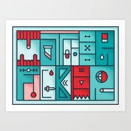 Play on words | Mother Fucker Art Print