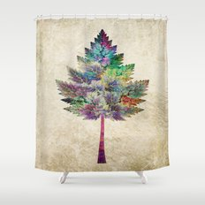 Like a Tree 2. version Shower Curtain
