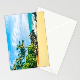 Paako Beach Makena Maui Hawaii Stationery Cards