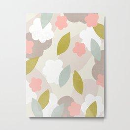 Flower Garden Metal Print