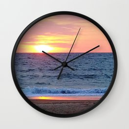 Sunrise in Rehoboth Wall Clock