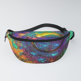 Psychedelic Ride - Motocross Racer Fanny Pack