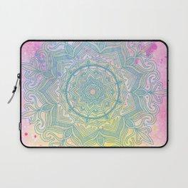 pink splash mandala Laptop Sleeve