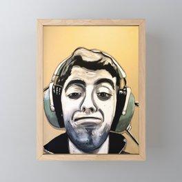 Zach Framed Mini Art Print