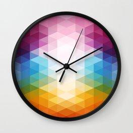 Prisma Wall Clock