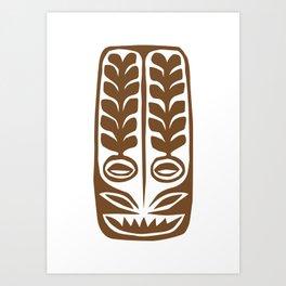 Tiki Mod 12 Art Print