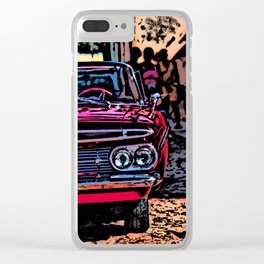 Old american car in Trinidad, Kuba Clear iPhone Case