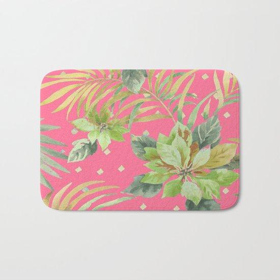 tropical summer warm Bath Mat