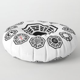 Lost Dharma Stations Floor Pillow
