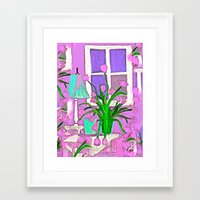 tulips Framed Art Prints featuring Tulips by Saundra Myles