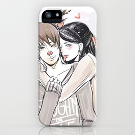Simon and Isabelle iPhone Case