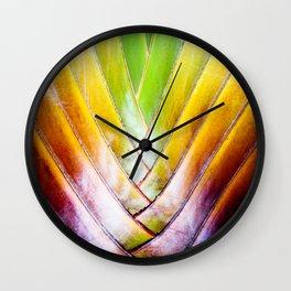 Maui Palm Wall Clock