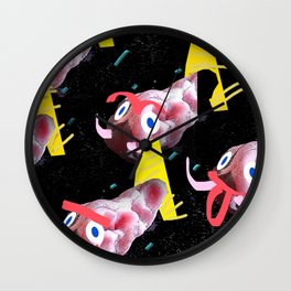School of fish Wall Clock