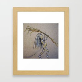 Builder Framed Art Print
