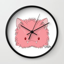 Spoopy Pritty Kitty disguise! Wall Clock