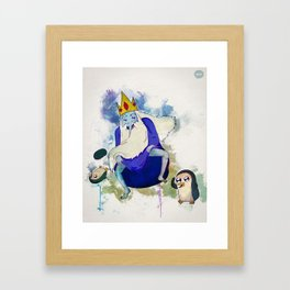 Cold Dance Framed Art Print
