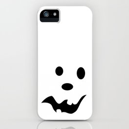 Scared Jack O'Lantern Face iPhone Case