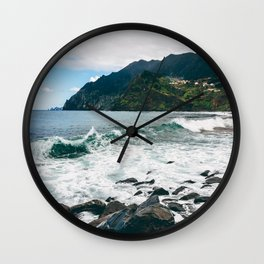 Pearl of the Atlantic Wall Clock