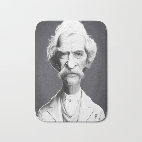 Mark Twain Bath Mat