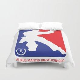 World Mantis Brotherhood Duvet Cover
