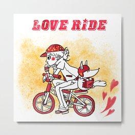 Love Ride Metal Print