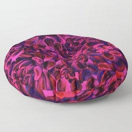 Floral tribute [vivid] Floor Pillow