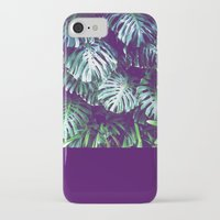 palms iPhone & iPod Cases featuring PALMS by Sorbetedelimon