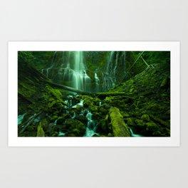 Proxy Falls (Fine Art Landscape Photography) Art Print