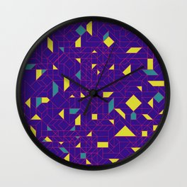 TronGeometric Wall Clock