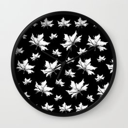 Just leaves... Wall Clock