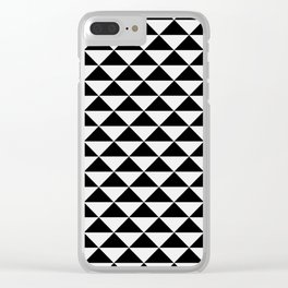 Rule of Threes Clear iPhone Case