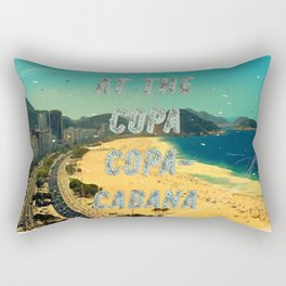 At the Copa Copacabana #1 – A Hell Songbook Edition Rectangular Pillow
