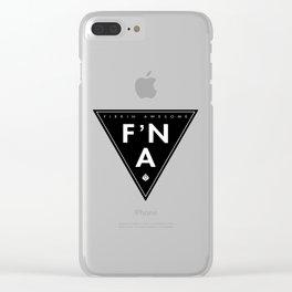 F'NA Logo Clear iPhone Case