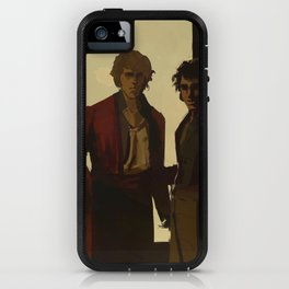 Orestes Fasting and Pylades Drunk iPhone Case