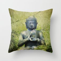 Big Buddha Throw Pillow