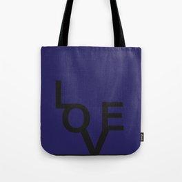 LOVE BLUE Tote Bag