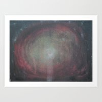 weird Art Prints featuring weird by goldcat