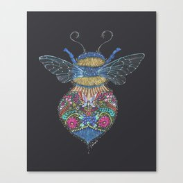 Bee Totem Canvas Print