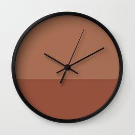 SIENNA x TERRACOTTA Wall Clock