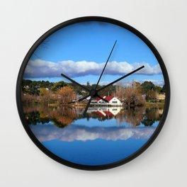 Lake Daylesford Wall Clock