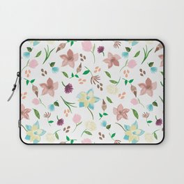 Tropical pastel themed pattern Laptop Sleeve