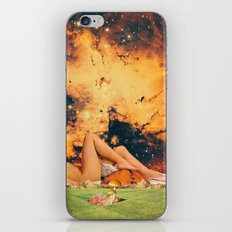 Legs & planet iPhone & iPod Skin
