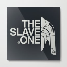 The Slave One Metal Print