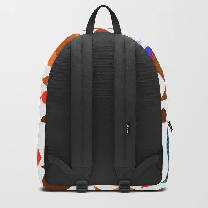 Red Fishes Backpack
