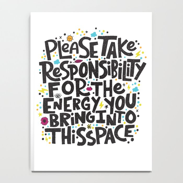 TAKE RESPONSIBILITY Notebook