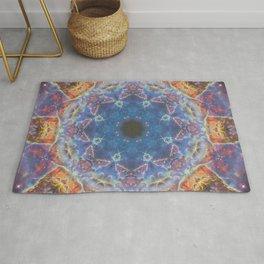 Space Mandala no2 Rug