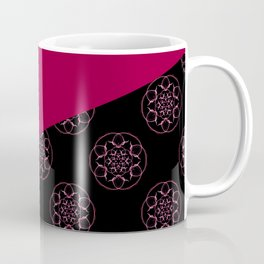 Pink and fractals Coffee Mug